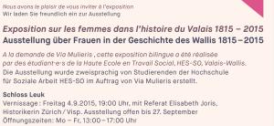 Via mulieris vous invite